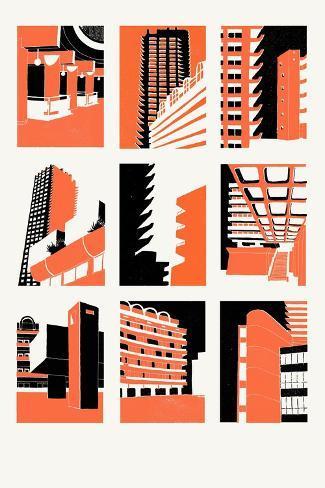 Barbican, 2014-Eliza Southwood-Stretched Canvas Print