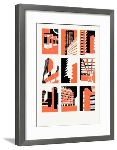 Barbican, 2014-Eliza Southwood-Framed Art Print