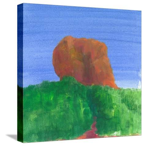Sigiriya Rock-Lincoln Seligman-Stretched Canvas Print