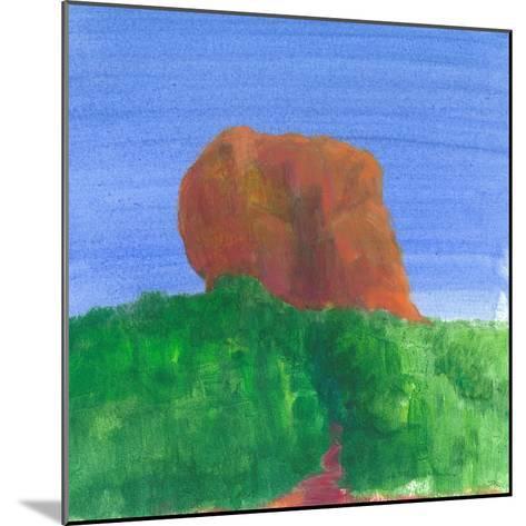 Sigiriya Rock-Lincoln Seligman-Mounted Giclee Print