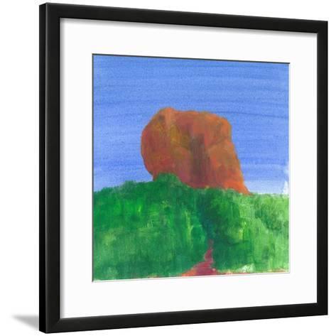 Sigiriya Rock-Lincoln Seligman-Framed Art Print