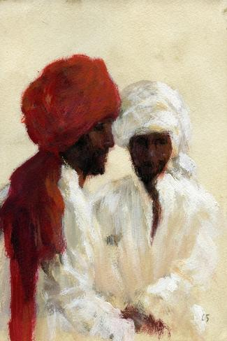 Two Imams-Lincoln Seligman-Stretched Canvas Print