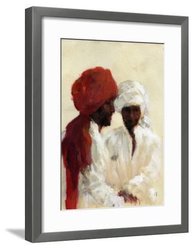 Two Imams-Lincoln Seligman-Framed Art Print
