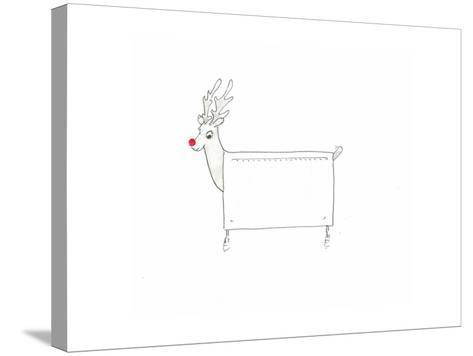 Rudolf the Red Nosed Radiator-Lincoln Seligman-Stretched Canvas Print