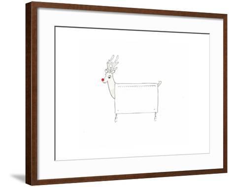 Rudolf the Red Nosed Radiator-Lincoln Seligman-Framed Art Print