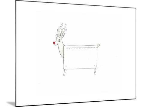 Rudolf the Red Nosed Radiator-Lincoln Seligman-Mounted Giclee Print