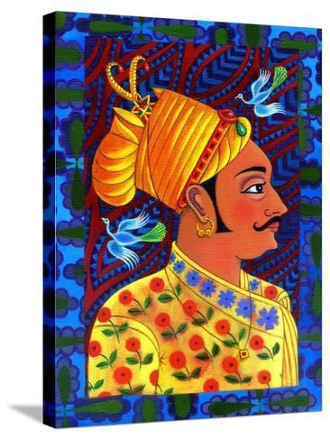 Maharaja with Blue Birds, 2011-Jane Tattersfield-Stretched Canvas Print