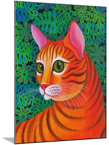 Tiger Cat, 2012-Jane Tattersfield-Mounted Giclee Print
