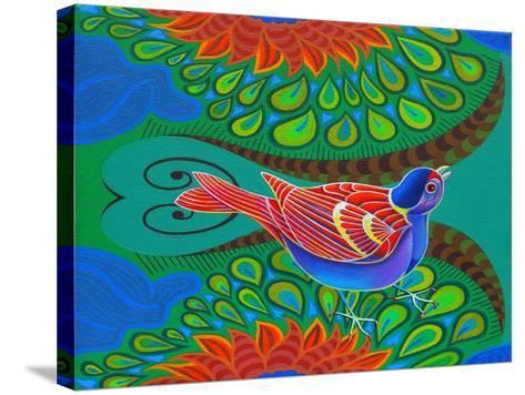 Tree Sparrow, 2012-Jane Tattersfield-Stretched Canvas Print