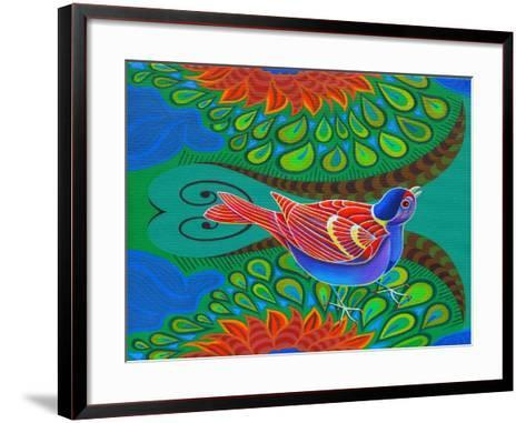 Tree Sparrow, 2012-Jane Tattersfield-Framed Art Print