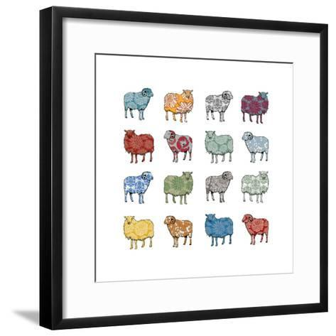 Baa Humbug, 2012-Sarah Hough-Framed Art Print