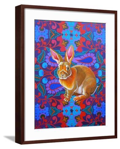 Rabbit, 2014-Jane Tattersfield-Framed Art Print