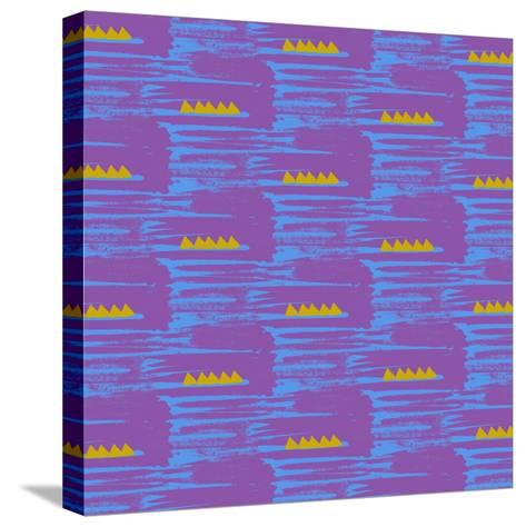 Aztec-Laurence Lavallee-Stretched Canvas Print