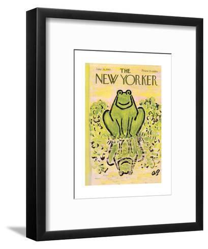 The New Yorker Cover - June 26, 1965-Abe Birnbaum-Framed Art Print