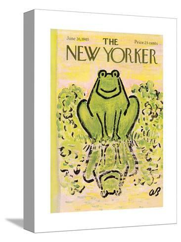 The New Yorker Cover - June 26, 1965-Abe Birnbaum-Stretched Canvas Print