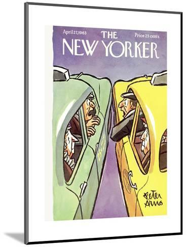 The New Yorker Cover - April 27, 1963-Peter Arno-Mounted Premium Giclee Print