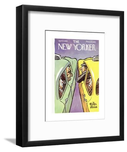 The New Yorker Cover - April 27, 1963-Peter Arno-Framed Art Print