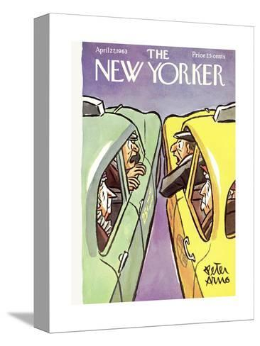 The New Yorker Cover - April 27, 1963-Peter Arno-Stretched Canvas Print