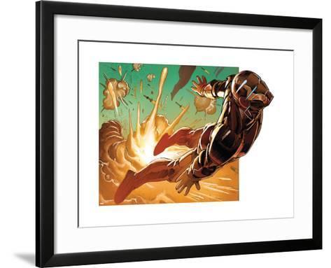 Avengers Assemble Style Guide: Iron Man--Framed Art Print
