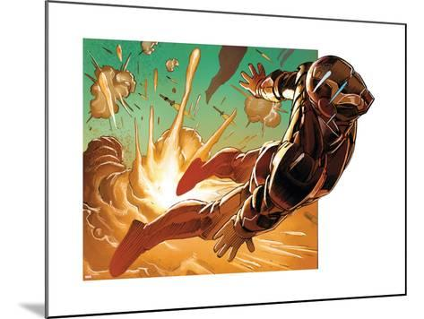Avengers Assemble Style Guide: Iron Man--Mounted Art Print