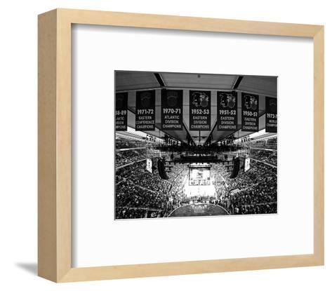 2015 NBA All-Star Game-Brian Babineau-Framed Art Print