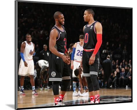 NBA All-Star Game 2015-Nathaniel S Butler-Mounted Photo