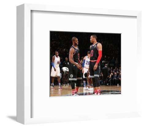 NBA All-Star Game 2015-Nathaniel S Butler-Framed Art Print