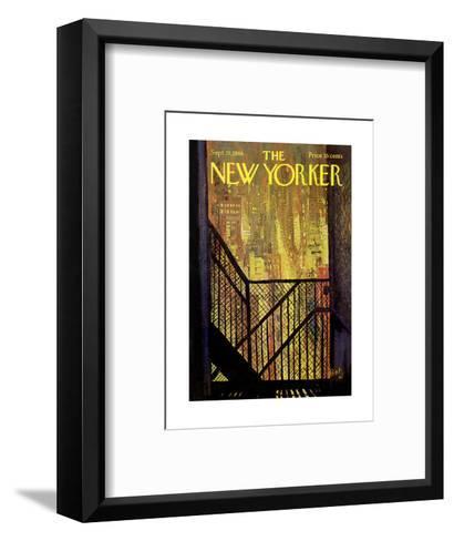 The New Yorker Cover - September 21, 1968-Arthur Getz-Framed Art Print