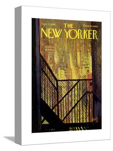 The New Yorker Cover - September 21, 1968-Arthur Getz-Stretched Canvas Print