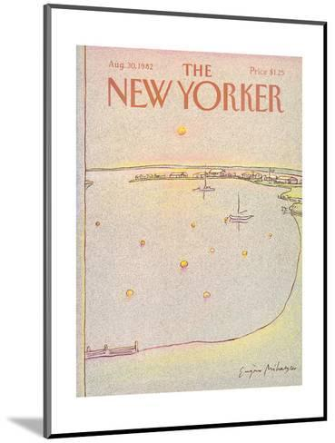 The New Yorker Cover - August 30, 1982-Eug?ne Mihaesco-Mounted Premium Giclee Print