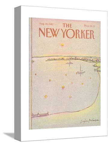 The New Yorker Cover - August 30, 1982-Eug?ne Mihaesco-Stretched Canvas Print