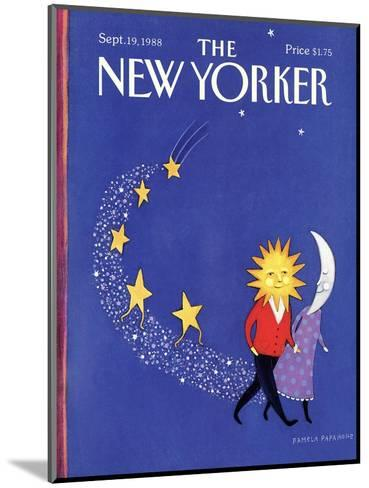 The New Yorker Cover - September 19, 1988-Pamela Paparone-Mounted Premium Giclee Print