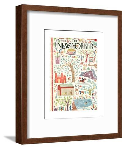 The New Yorker Cover - May 25, 1940-Joseph Low-Framed Art Print
