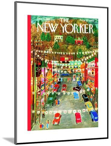 The New Yorker Cover - December 9, 1950-Ilonka Karasz-Mounted Premium Giclee Print