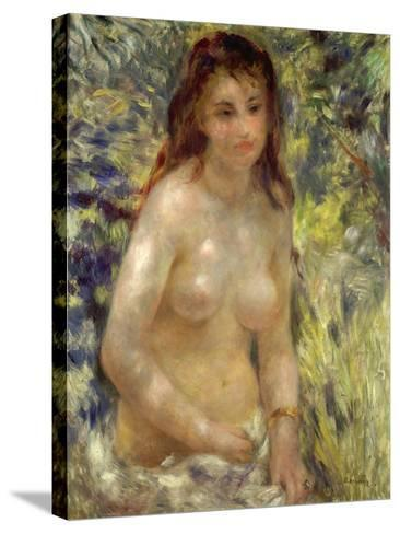 Study, Torso, Effect of Sunlight, 1875-76-Pierre-Auguste Renoir-Stretched Canvas Print