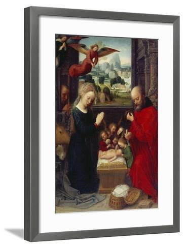 Nativity-Adriaen Isenbrant-Framed Art Print