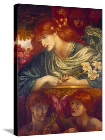 The Blessed Damozel, 1875-79-Dante Gabriel Rossetti-Stretched Canvas Print