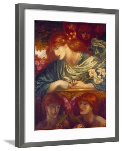 The Blessed Damozel, 1875-79-Dante Gabriel Rossetti-Framed Art Print