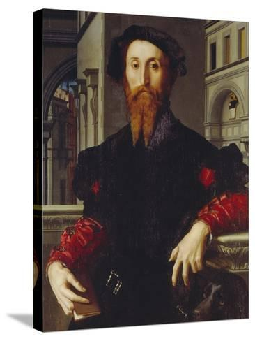 Bartolomeo Panciatichi, C. 1540-Agnolo Bronzino-Stretched Canvas Print