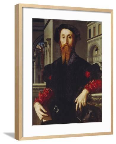 Bartolomeo Panciatichi, C. 1540-Agnolo Bronzino-Framed Art Print