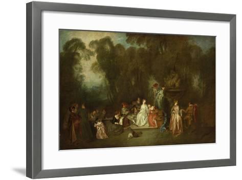 Party in the Park-Antoine Coypel-Framed Art Print