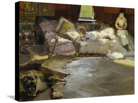 The Picture Book, 1891-Albert von Keller-Stretched Canvas Print