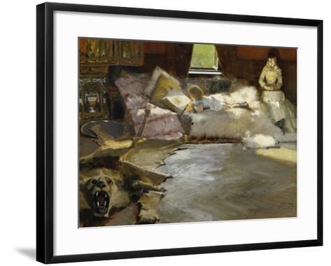The Picture Book, 1891-Albert von Keller-Framed Art Print