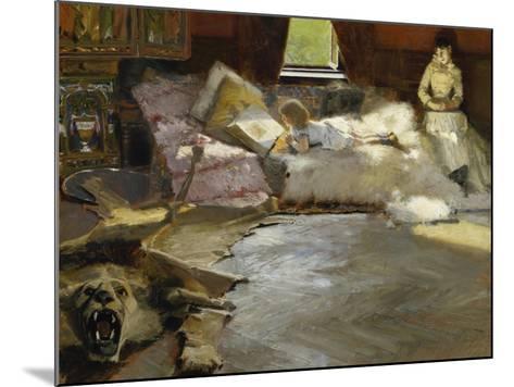 The Picture Book, 1891-Albert von Keller-Mounted Giclee Print