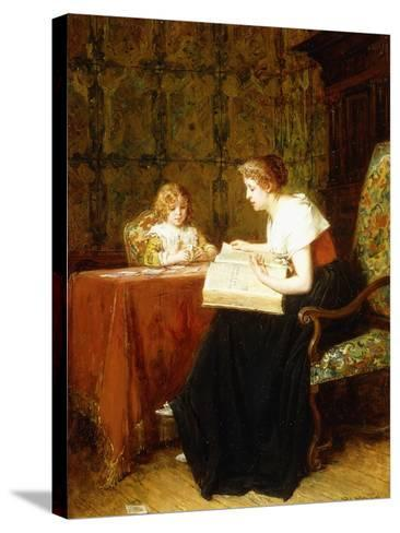 The Evening Hour-Antoine Jean Gros-Stretched Canvas Print