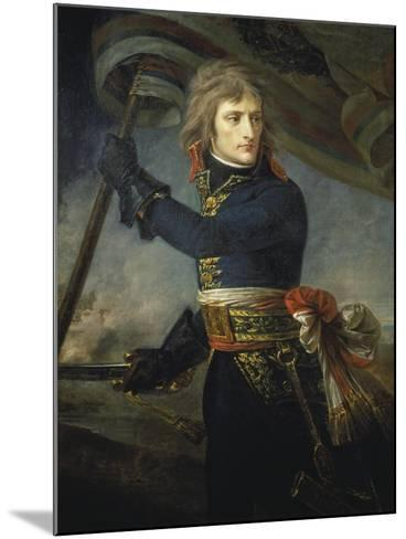 Bonaparte at the Bridge of Arcole, 17, November 1796-Antoine Jean Gros-Mounted Giclee Print