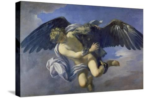 The Abduction of Ganymede-Anton Domenico Gabbiani-Stretched Canvas Print