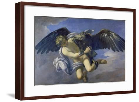 The Abduction of Ganymede-Anton Domenico Gabbiani-Framed Art Print