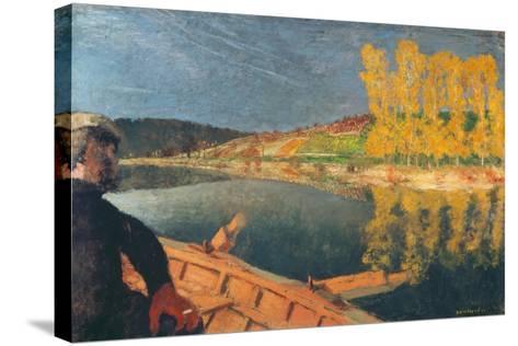 The Ferryman-Edouard Vuillard-Stretched Canvas Print