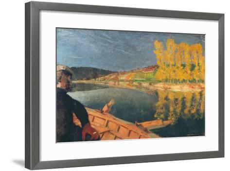 The Ferryman-Edouard Vuillard-Framed Art Print
